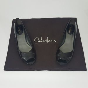 NWOT Cole Haan AIR Womens  Patent Leather Peep Toe